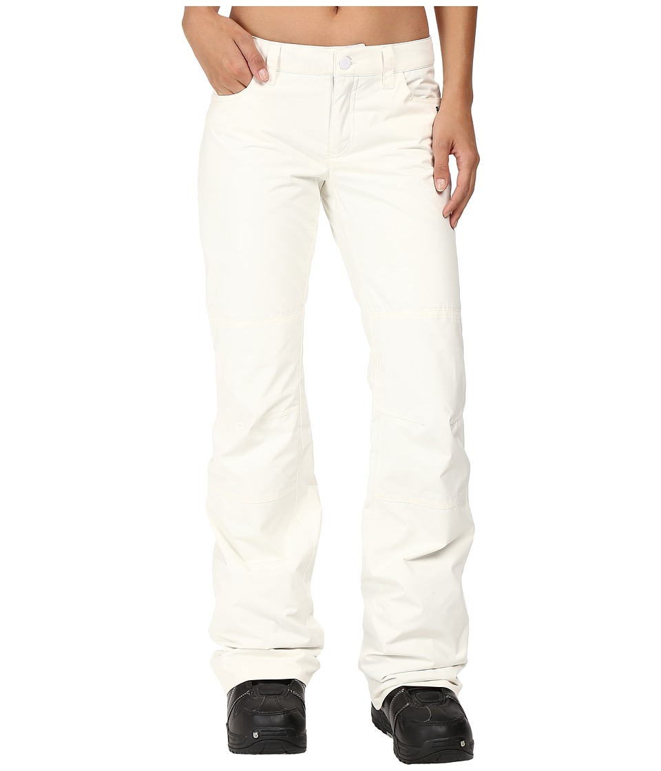 Burton - TWC on Fleek Pant (Stout White) Women's Casual Pants