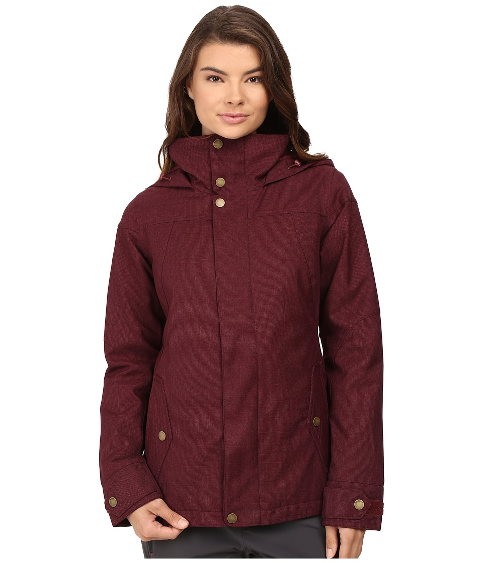 Burton - Jet Set Jacket (Sangria) Women's Coat