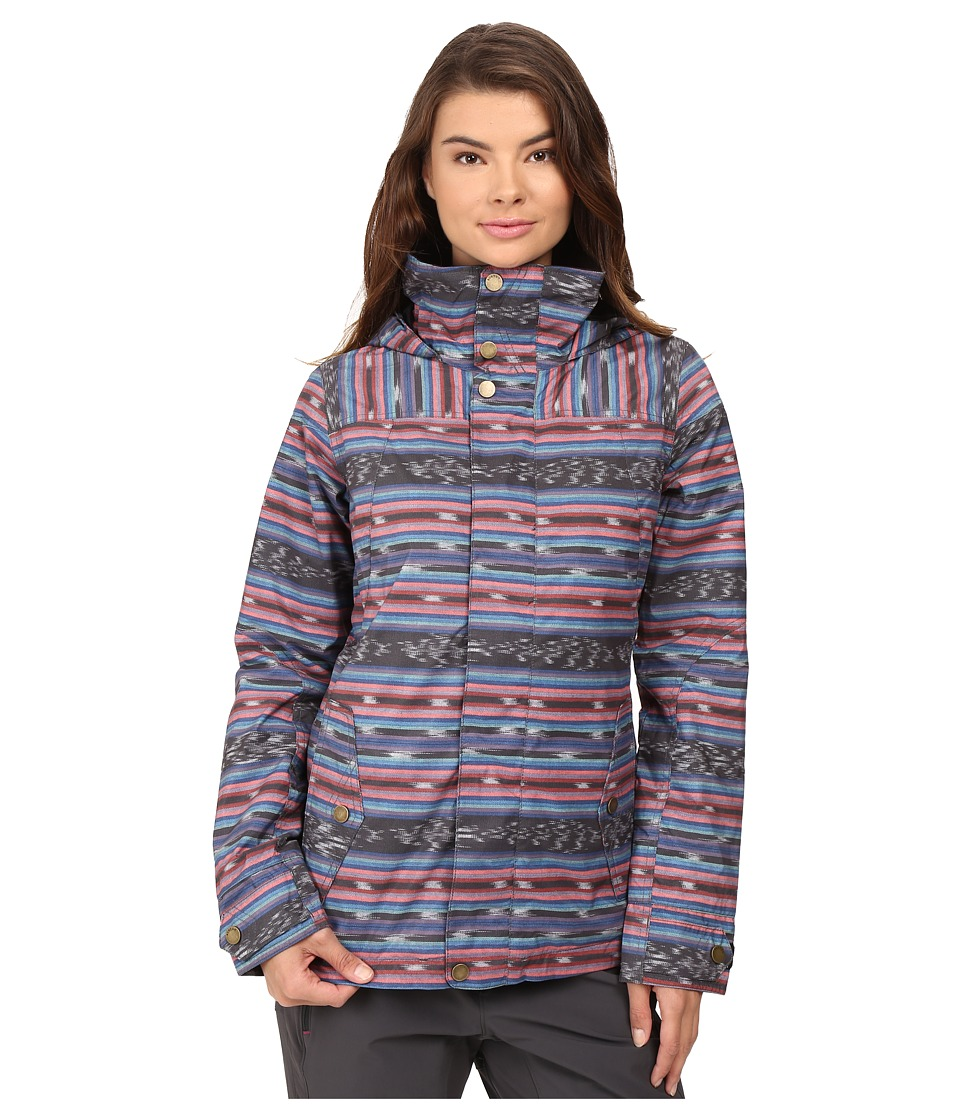 Burton - Jet Set Jacket (Mala Stripe) Women's Coat