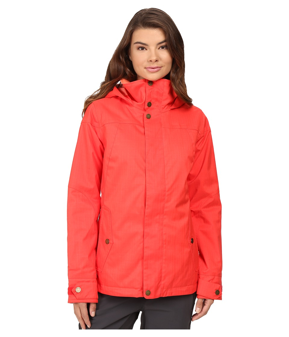 Burton - Jet Set Jacket (Coral) Women's Coat