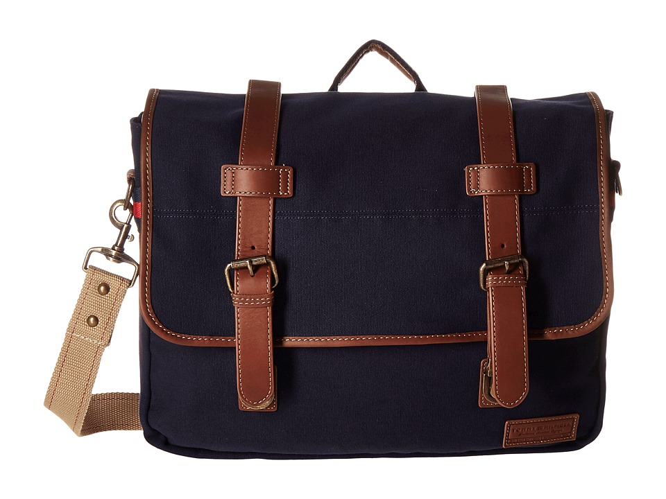 Tommy Hilfiger - Smaller Flap Over (Messenger) (Navy) Messenger Bags