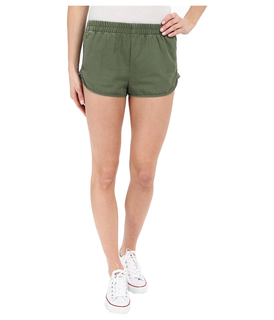 Obey - Bastille Shorts (Army) Women's Shorts