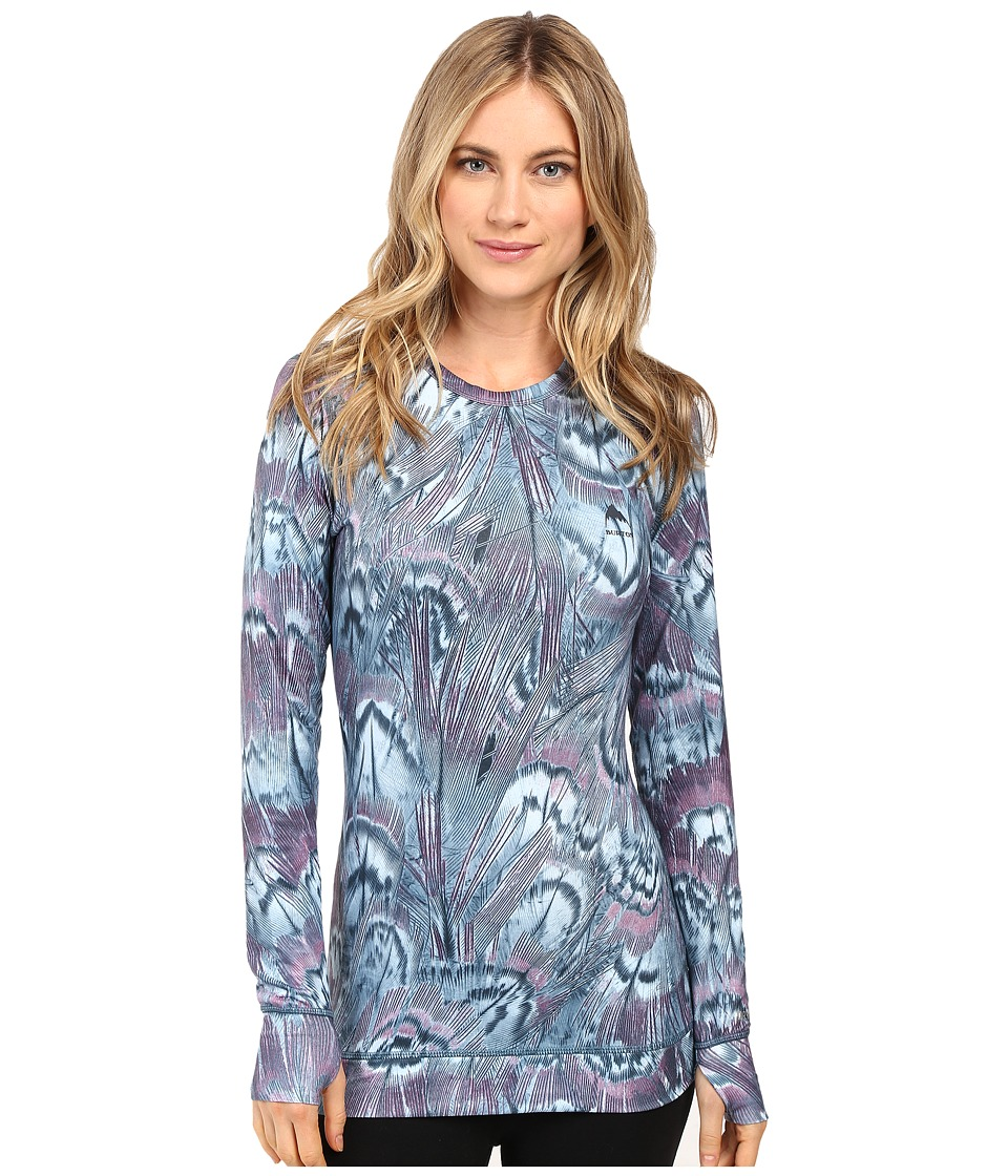 Burton - Midweight Crew (Feathers) Women's Long Sleeve Pullover