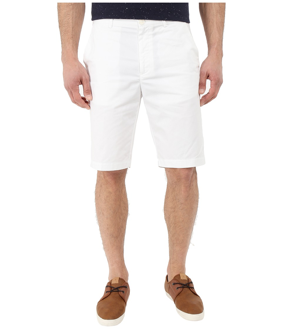 Calvin Klein - Classic Fit Twill Walking Short (White) Men's Shorts