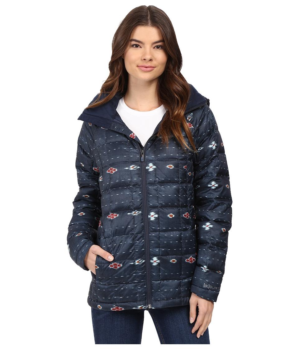 Burton - [ak] Baker Insulator Jacket (Floral Ikat Stripe) Women's Coat