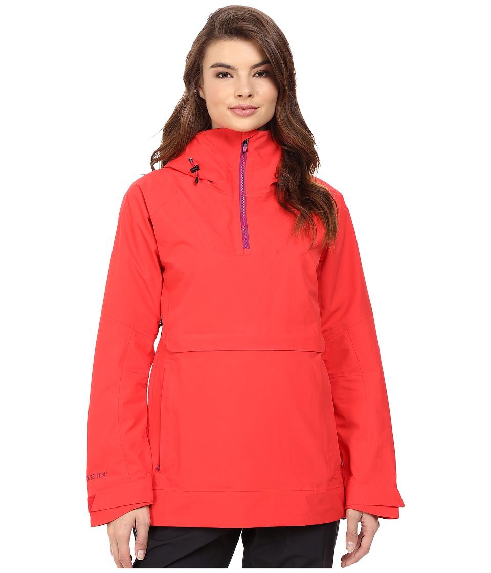 Burton - [ak] 2L Elevation Anorak Jacket (Coral) Women's Coat