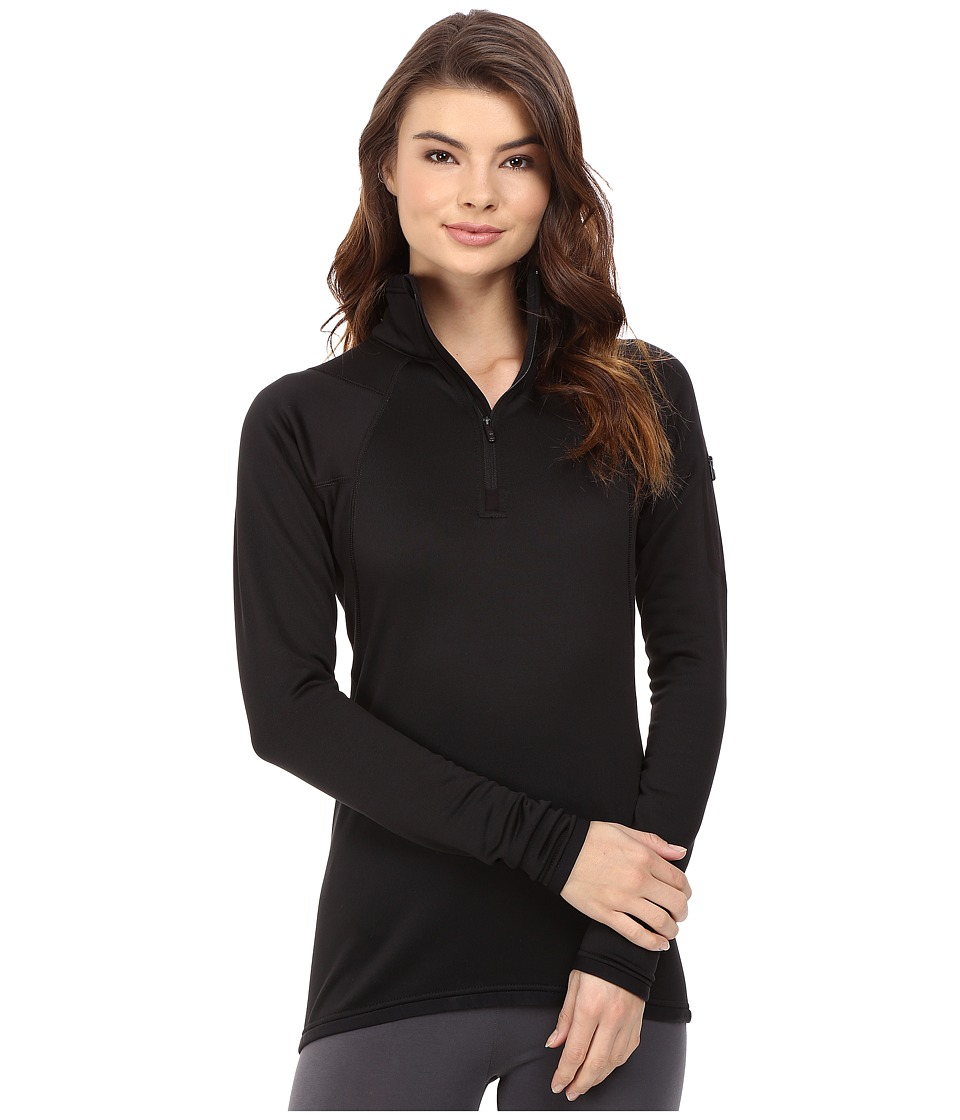 Burton - [ak] Lift 1/2 Zip Fleece (True Black) Women's Fleece