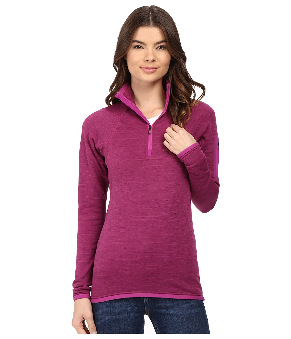 Burton - [ak] Lift 1/2 Zip Fleece (Heathered Grapeseed) Women's Fleece