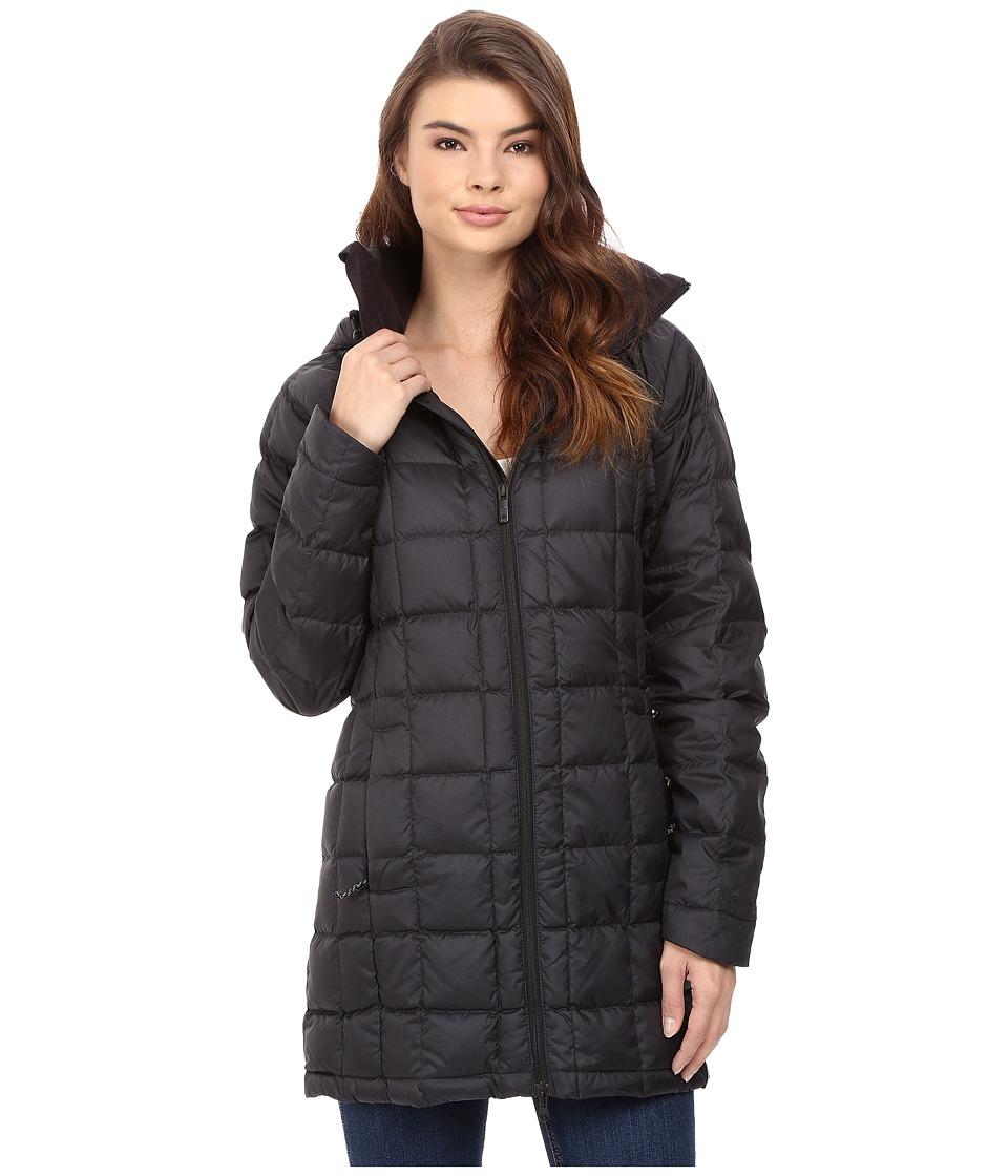 Burton - AK Long Baker Down Insulator Jacket (Black Heather) Women's Coat