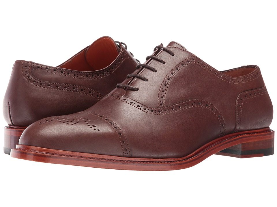 Crosby Square - Jermyn (Chocolate) Men's Lace up casual Shoes