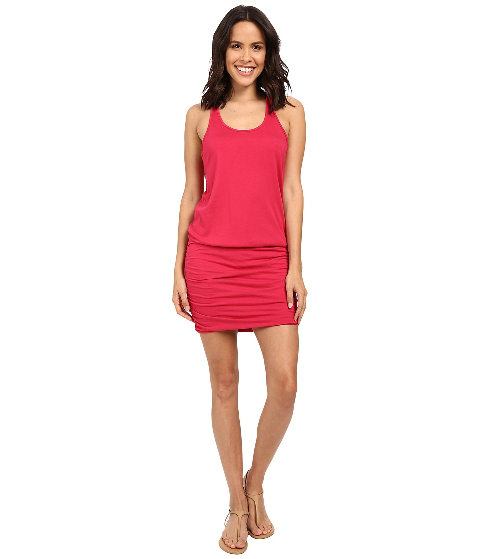 Michael Stars - Racerback Tank Dress (Watermelon) Women's Dress