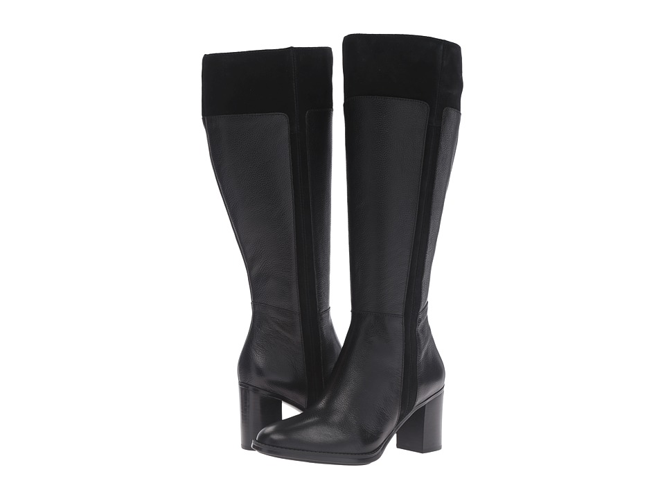 Naturalizer - Frances Wide Calf (Black) Women's Boots