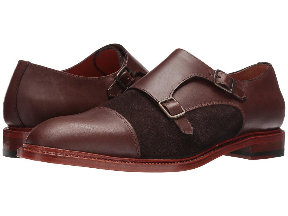 Crosby Square - Diplomat (Chocolate/Espresso) Men's Monkstrap Shoes