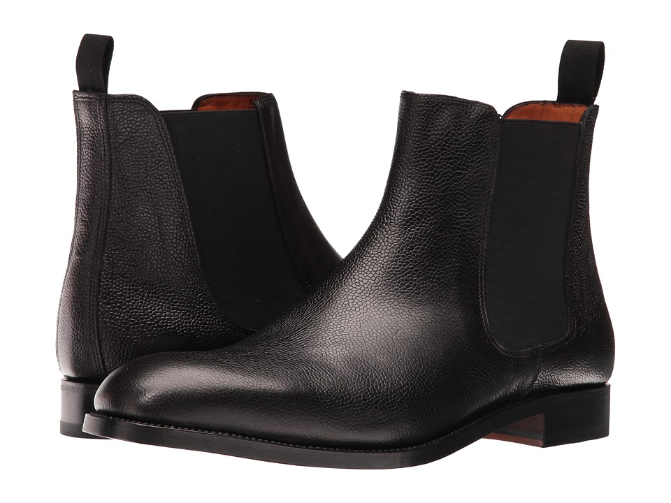 Crosby Square - Kensington (Black Pebble) Men's Boots