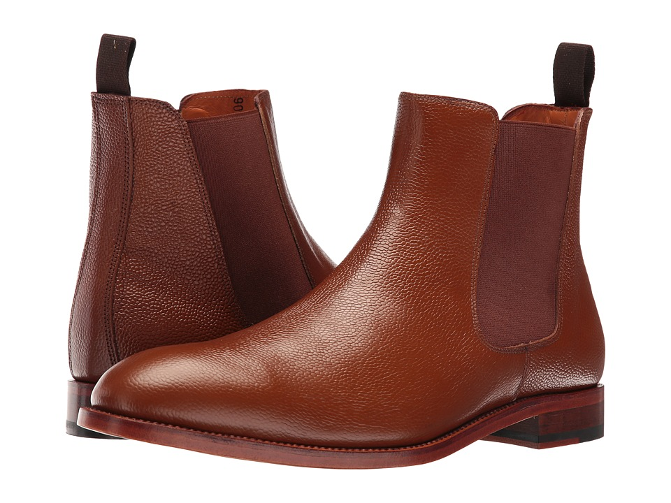 Crosby Square - Kensington (Cognac Pebble) Men's Boots