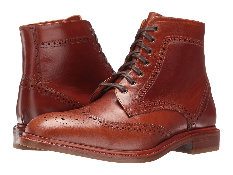 Crosby Square - Conroy (Cognac) Men's Lace-up Boots