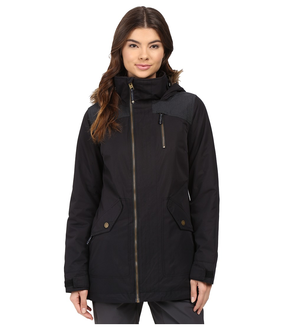 Burton - Hazel Jacket (True Black/True Black Denim) Women's Coat
