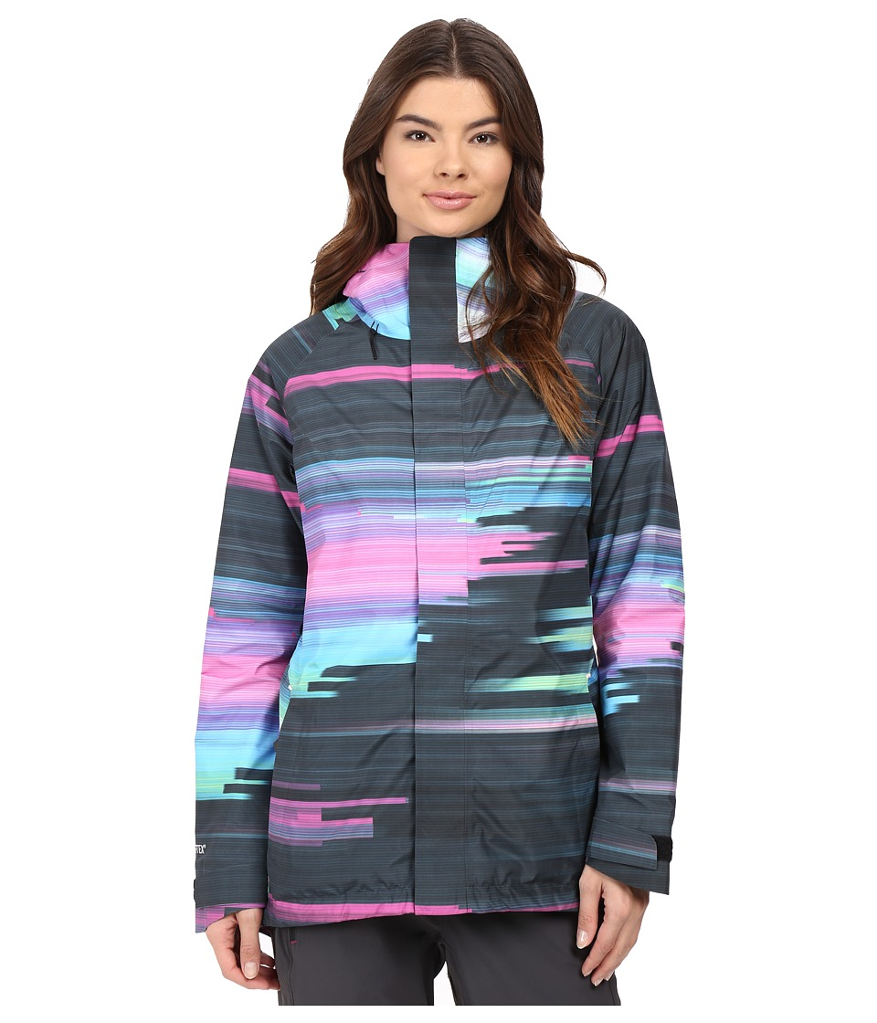 Burton - Rubix Jacket (Jaded Flynn Glitch) Women's Coat