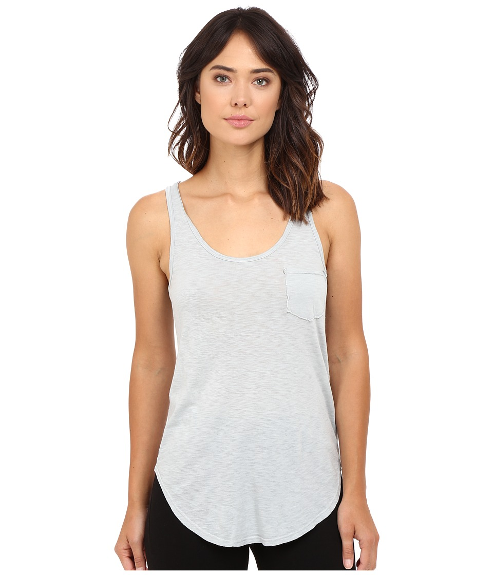 LAmade - Boyfriend Tank w/ Pocket (Arctic Grey) Women's Sleeveless