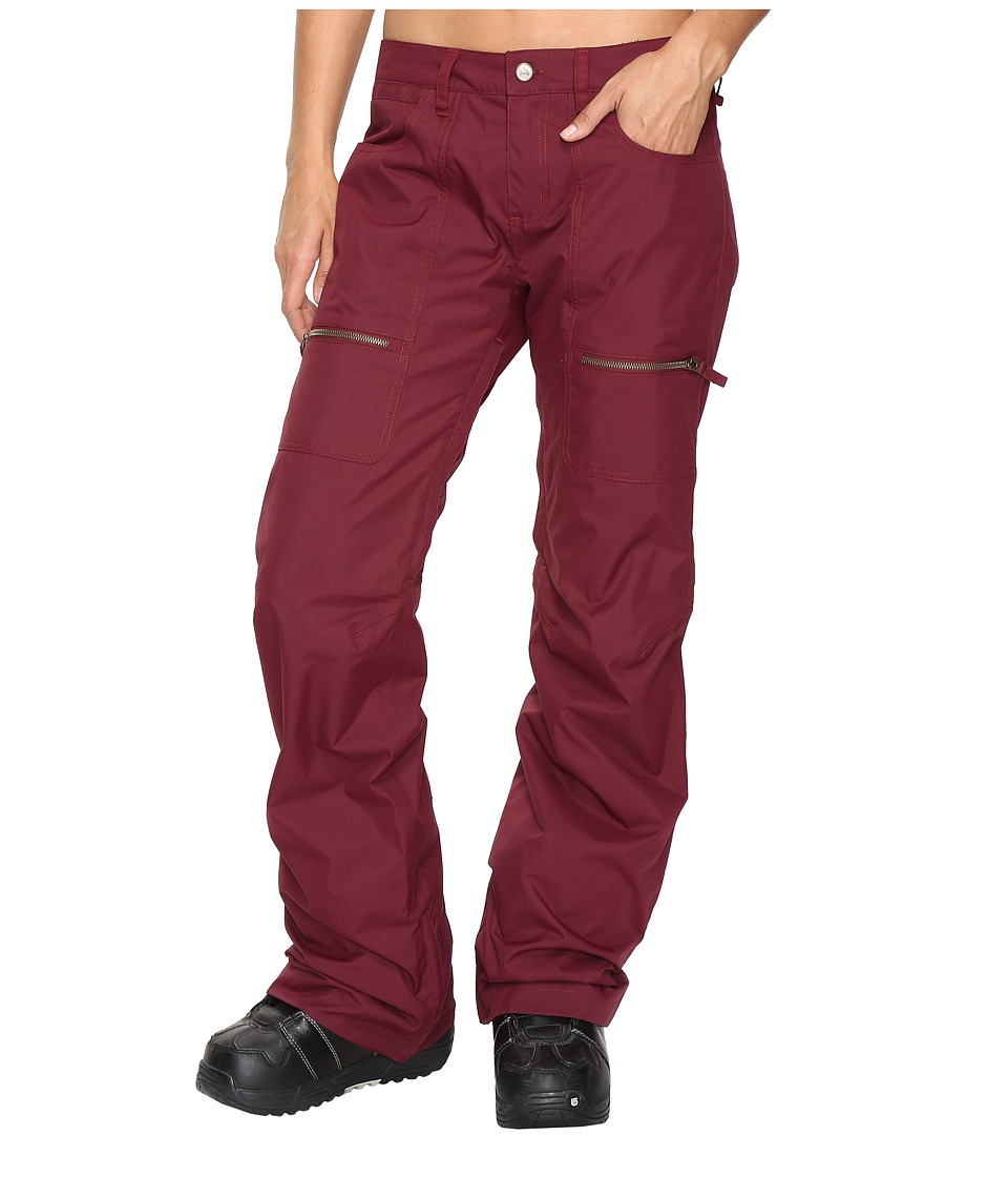 Burton - Chance Pant (Sangria) Women's Casual Pants
