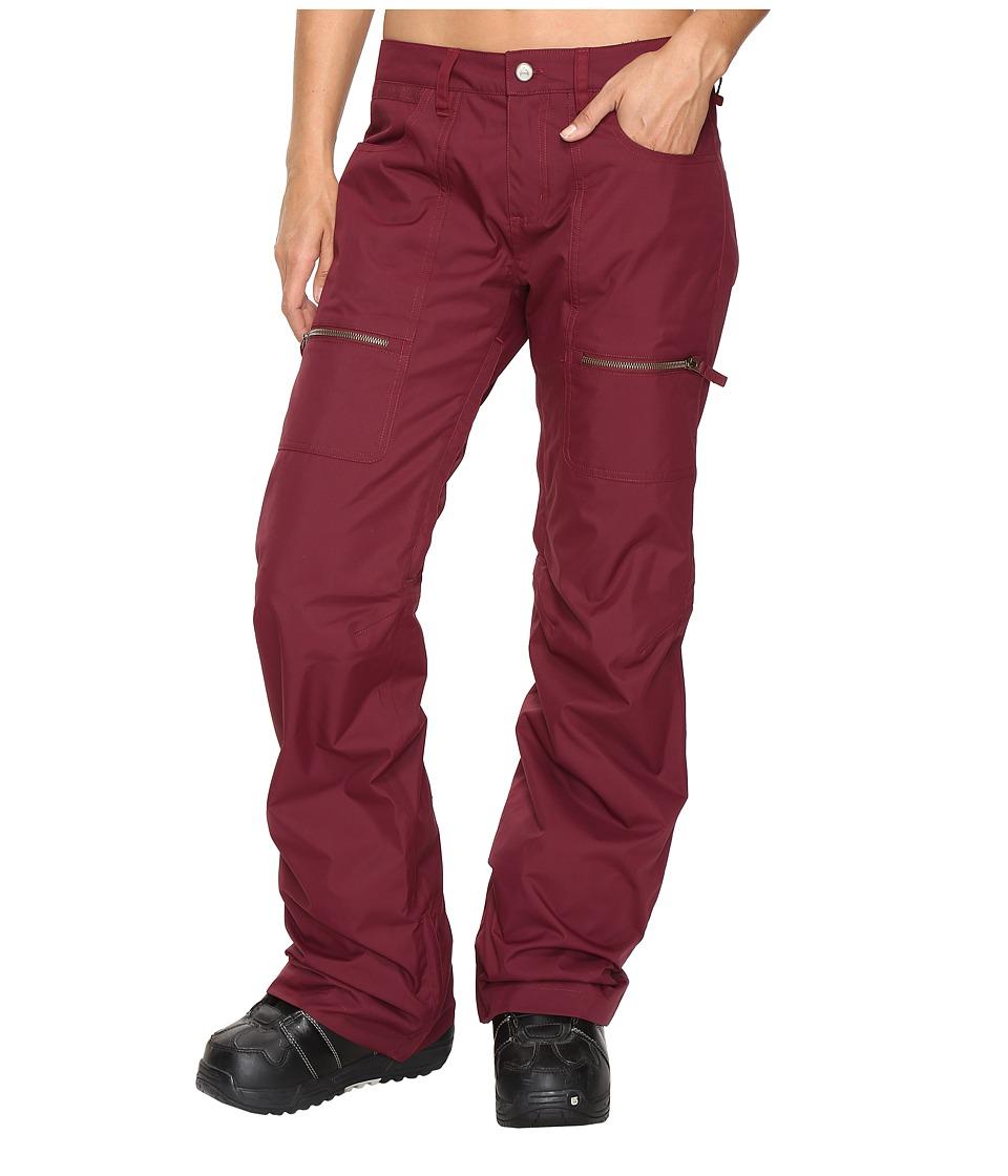 Burton - Chance Pant (Sangria) Women's Casual Pants
