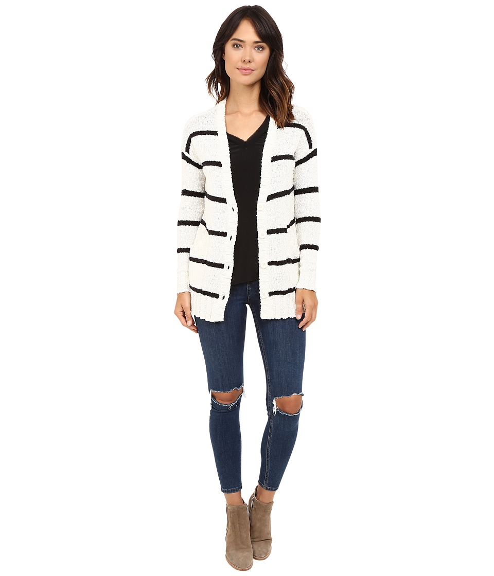 LAmade - Ananda Cardi (Ivory/Black) Women's Sweater