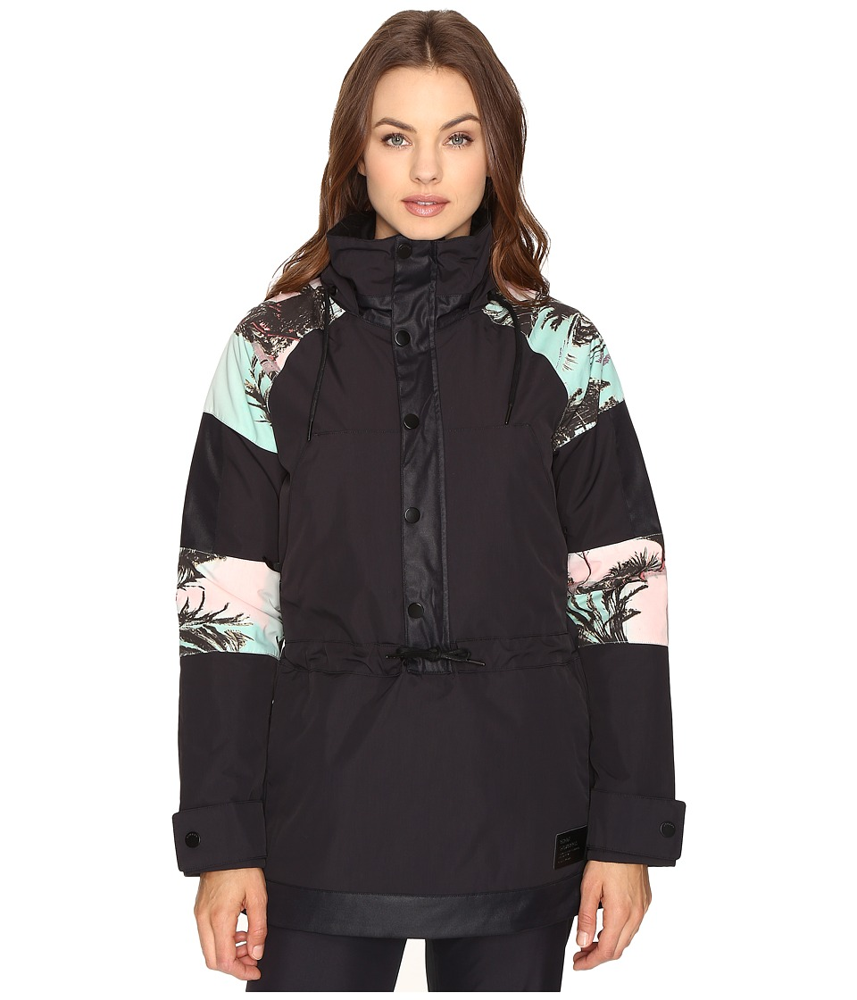 Burton - Cinder Anorak Jacket (Latta Palm Color Block) Women's Coat