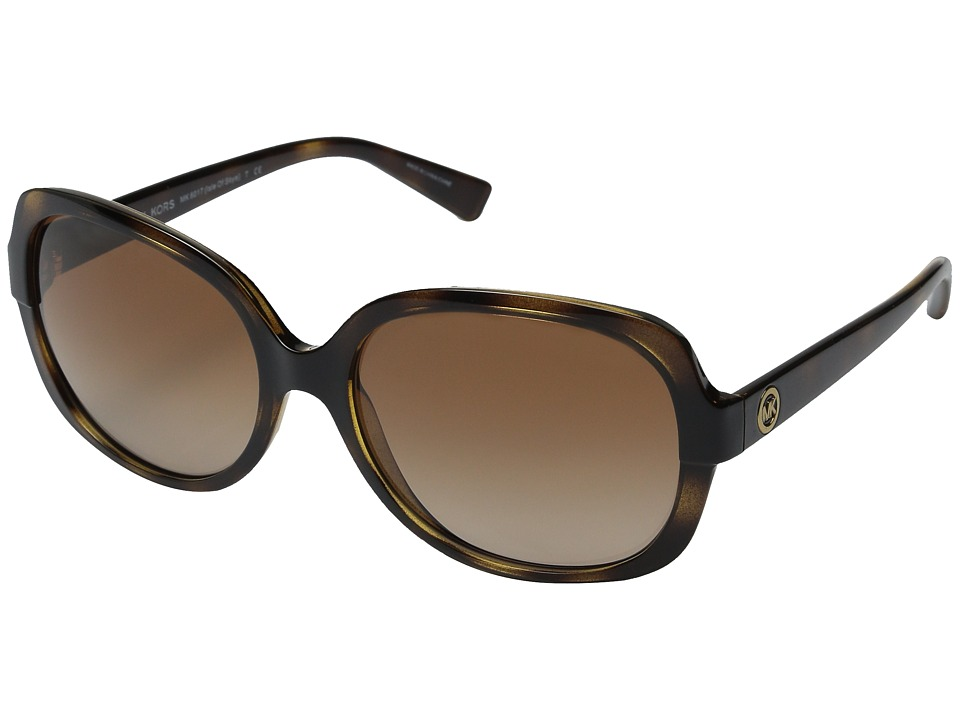 Michael Kors - Isle of Skye (Dark Tortoise) Fashion Sunglasses