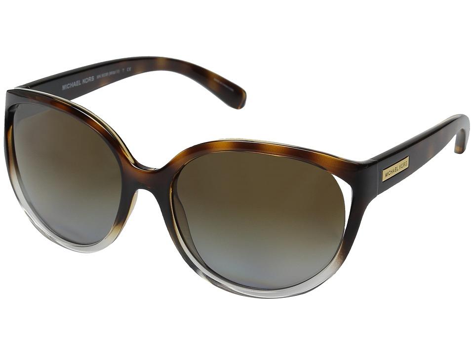 Michael Kors - Mitzi II (Tortoise Clear/Tortoise) Fashion Sunglasses