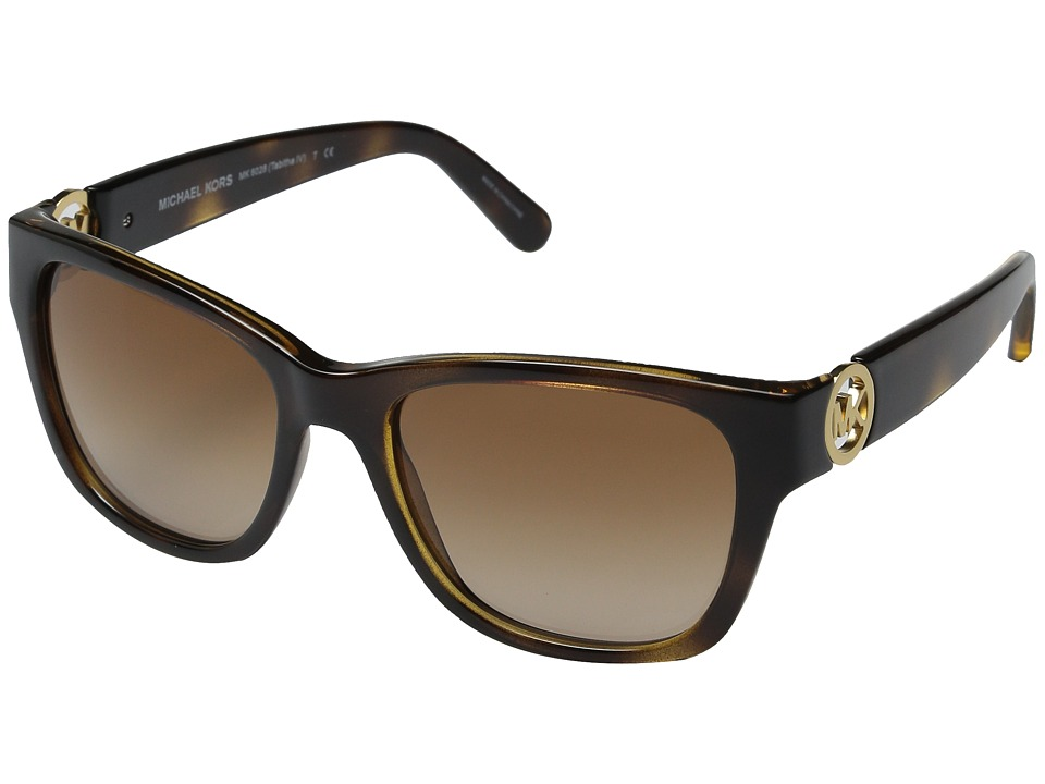 Michael Kors - Tabitha IV (Dark Tortoise) Fashion Sunglasses