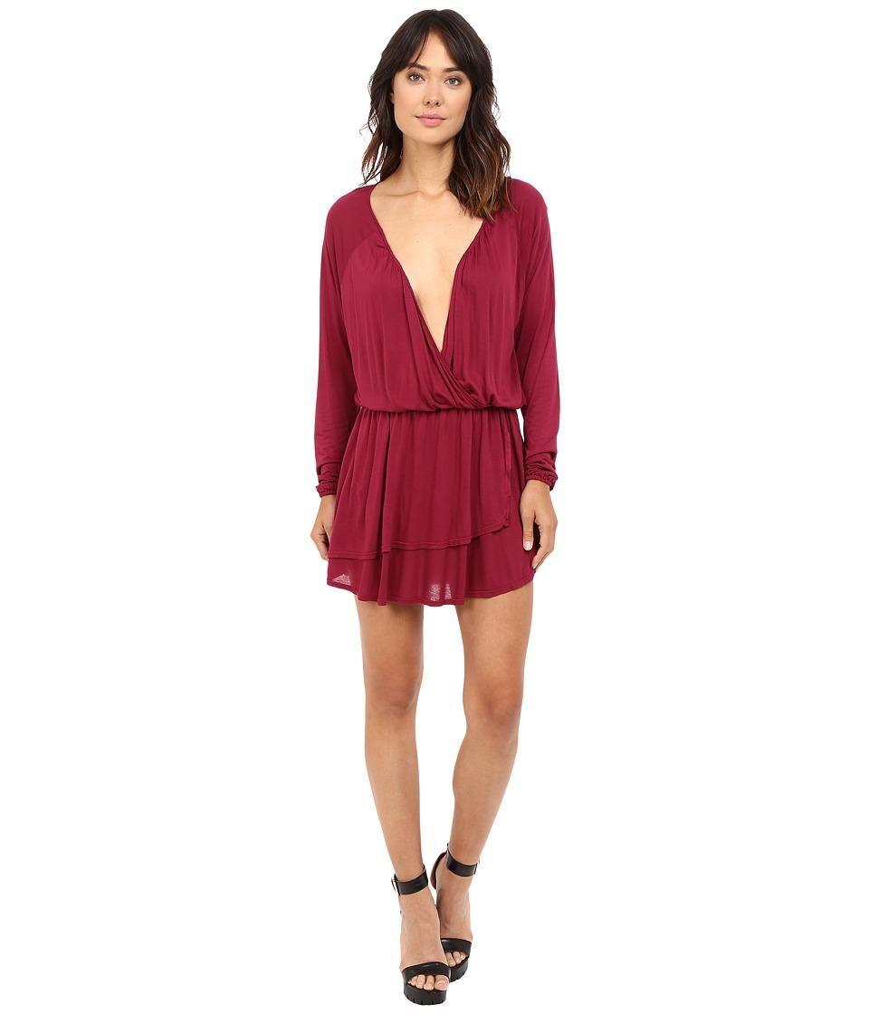 LAmade - Rosslyn Dress (Oxblood) Women's Dress