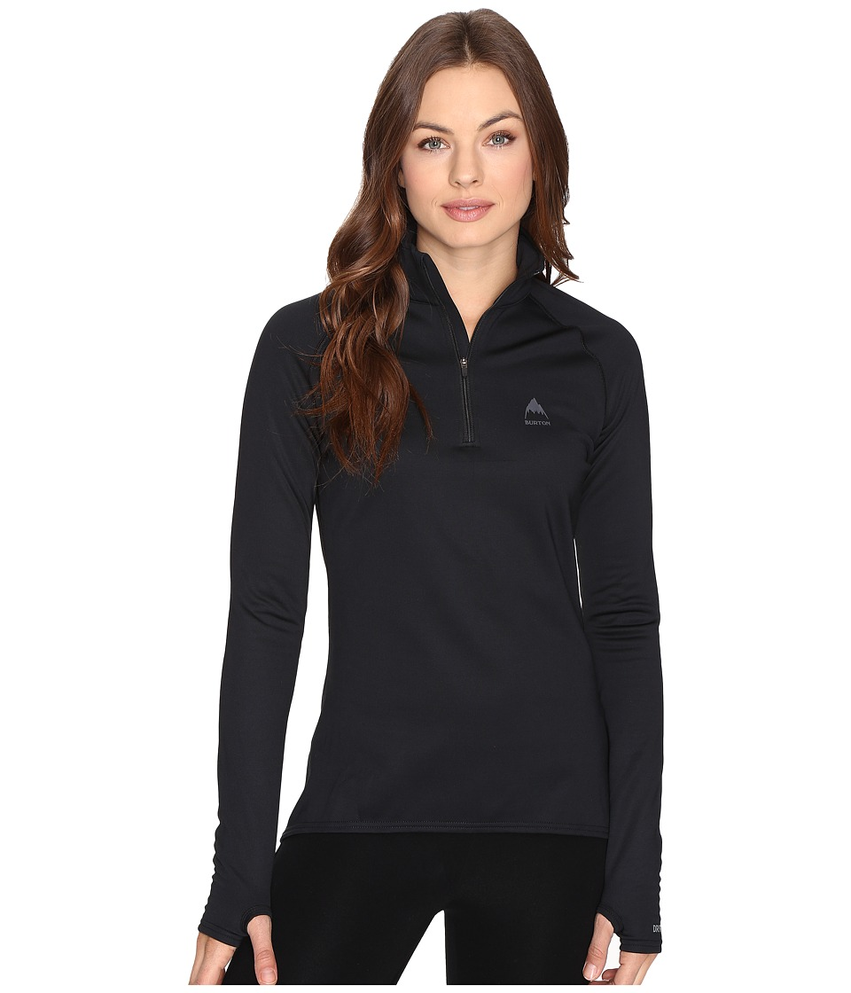 Burton - Expedition 1/4 Zip Fleece (True Black 1) Women's Sweatshirt