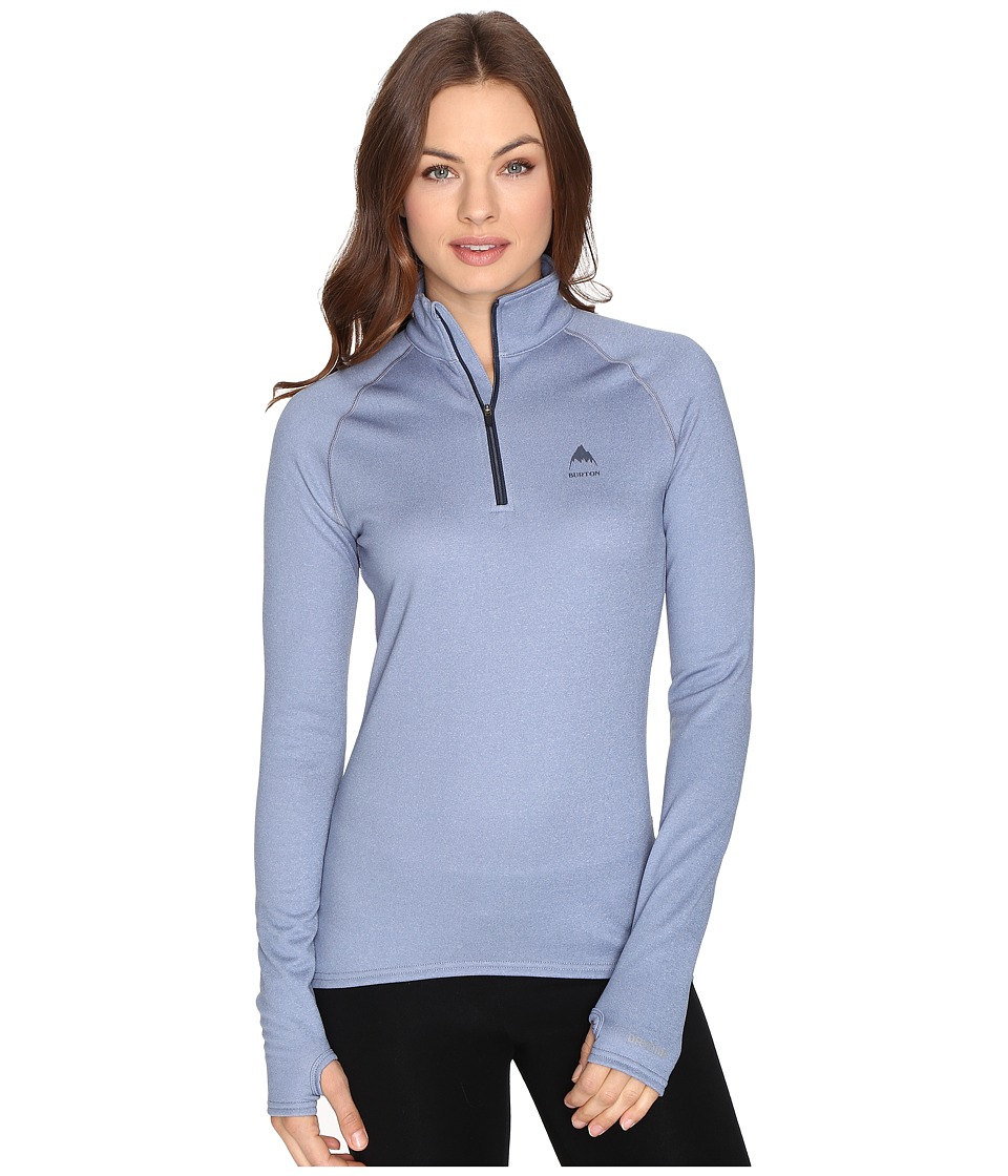 Burton Expedition 1/4 Zip Fleece (Infinity Heather) Women