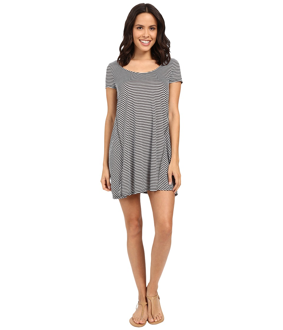Michael Stars - Mini Stripe A-Line Dress (Oxide) Women's Dress
