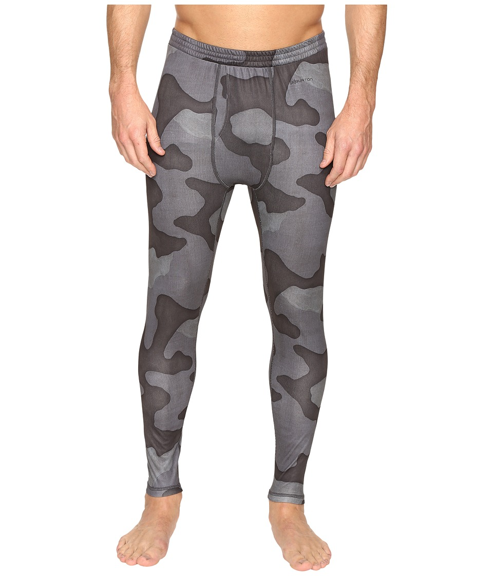 Burton - AK Power Grid Pant (True Black Hombre Camo) Men's Casual Pants