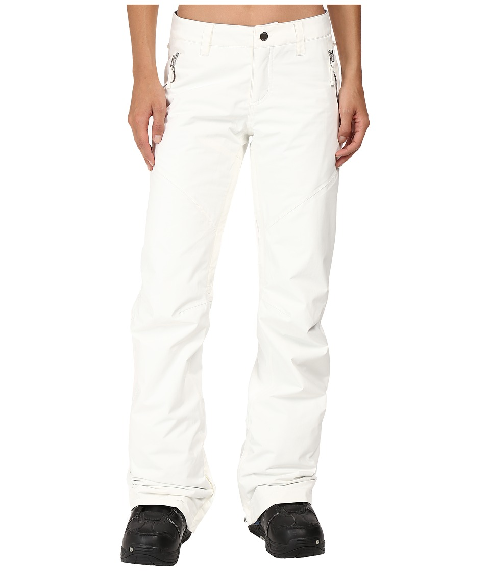 Burton - Society Pant (Stout White 1) Women's Outerwear
