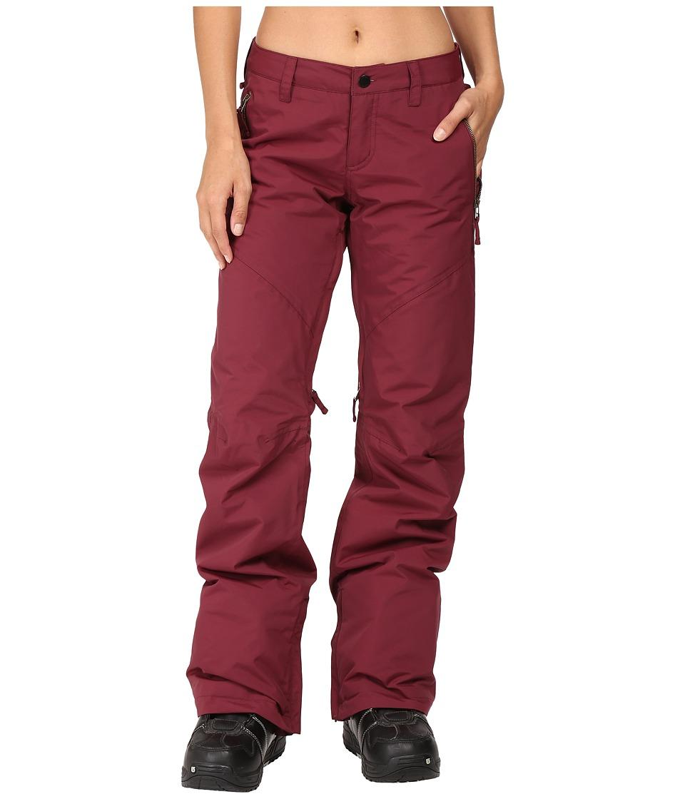 Burton - Society Pant (Sangria) Women's Outerwear