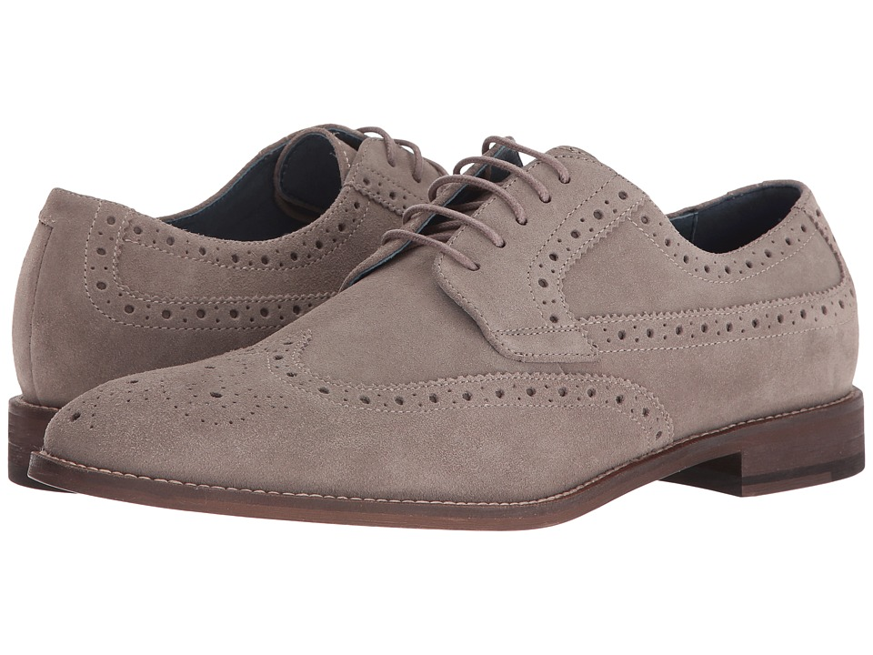 RUSH by Gordon Rush - Roscoe (Grey) Men's Shoes