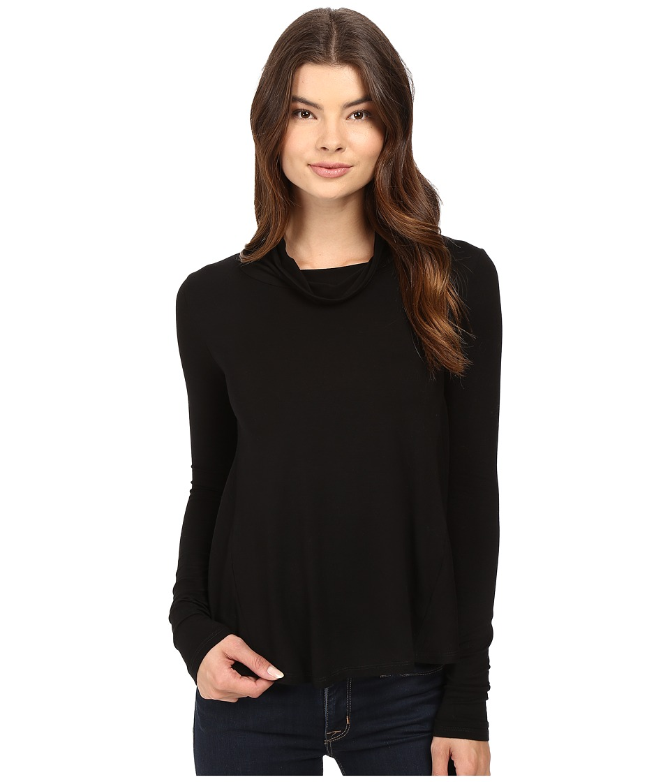 LAmade - Portabella Turtleneck (Black) Women's Long Sleeve Pullover