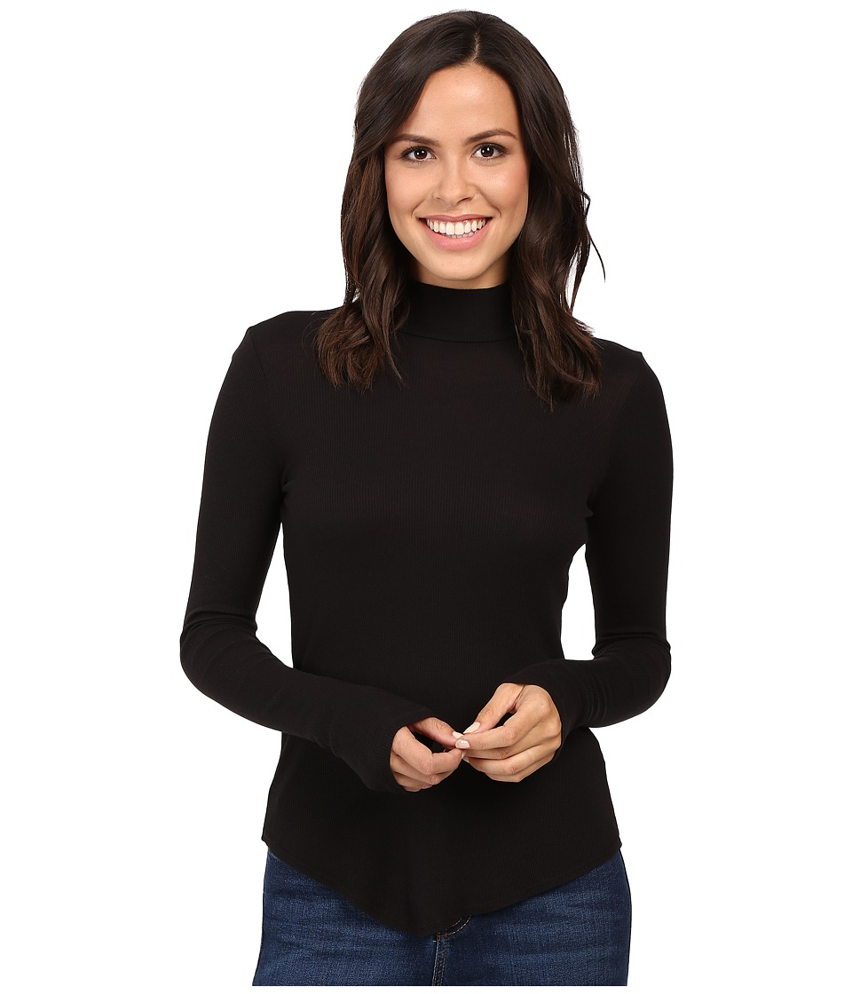 LAmade - Sibel Mock Neck (Black) Women's Long Sleeve Pullover