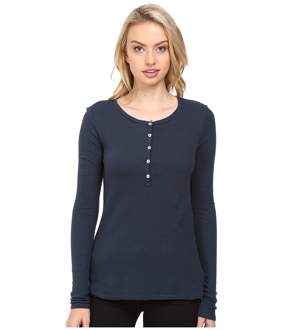 LAmade - Alex Henley (Hale Navy) Women's Long Sleeve Pullover