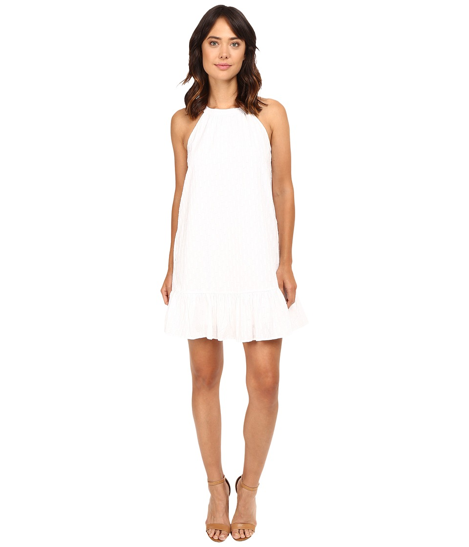 Splendid - Dover Clip Dot Dress (White) Women's Dress