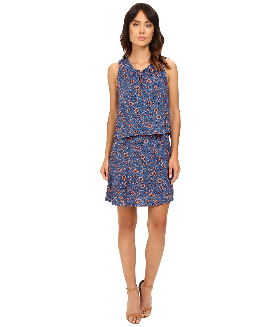 Splendid - Friesian Floral Print Dress (Regatta Blue) Women