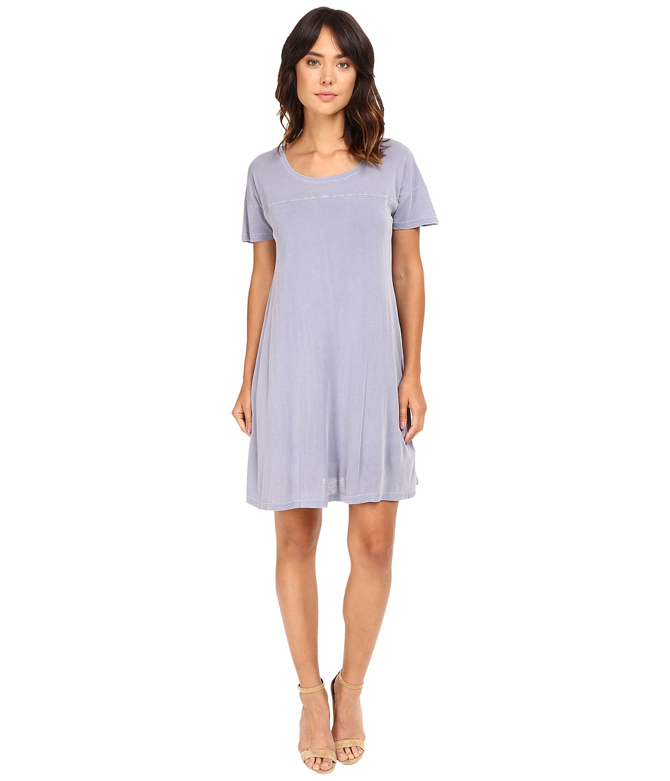 Splendid - Vintage Whisper Dress (Smokey Blue) Women's Dress