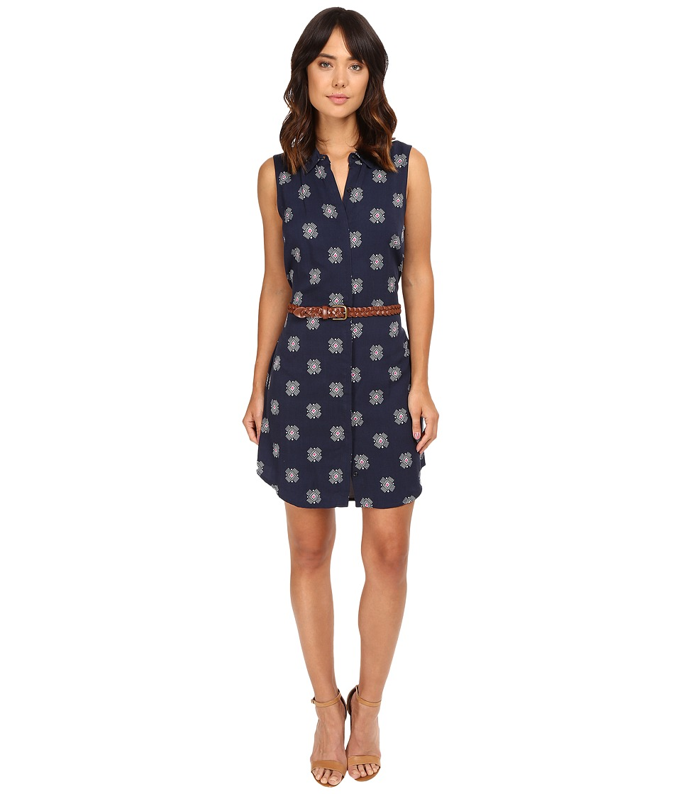 Splendid - Larkspur Conversational Dress (Navy) Women's Dress