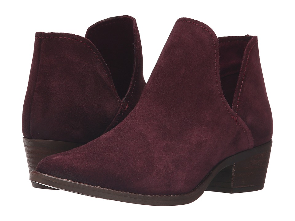 Steve Madden - Austin (Burgundy Suede) Women's Pull-on Boots