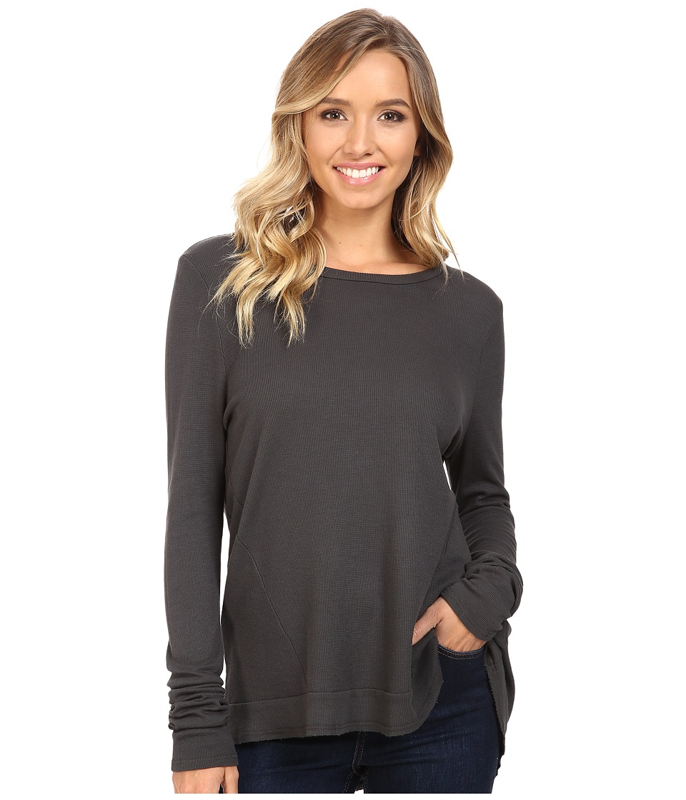LAmade - Austin Crew Neck (Raven) Women's Long Sleeve Pullover