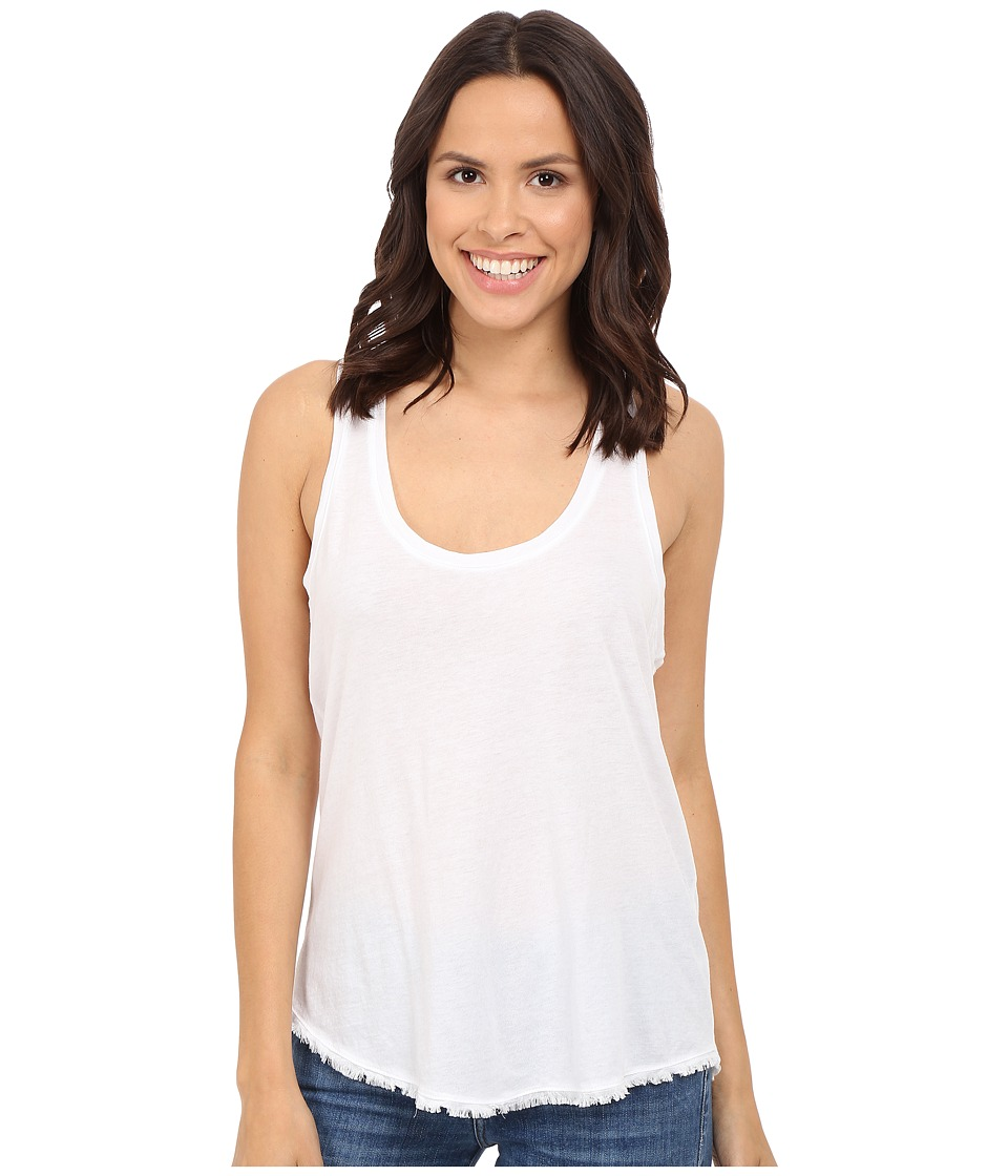 Splendid - Frinje Tank Top (White) Women's Sleeveless
