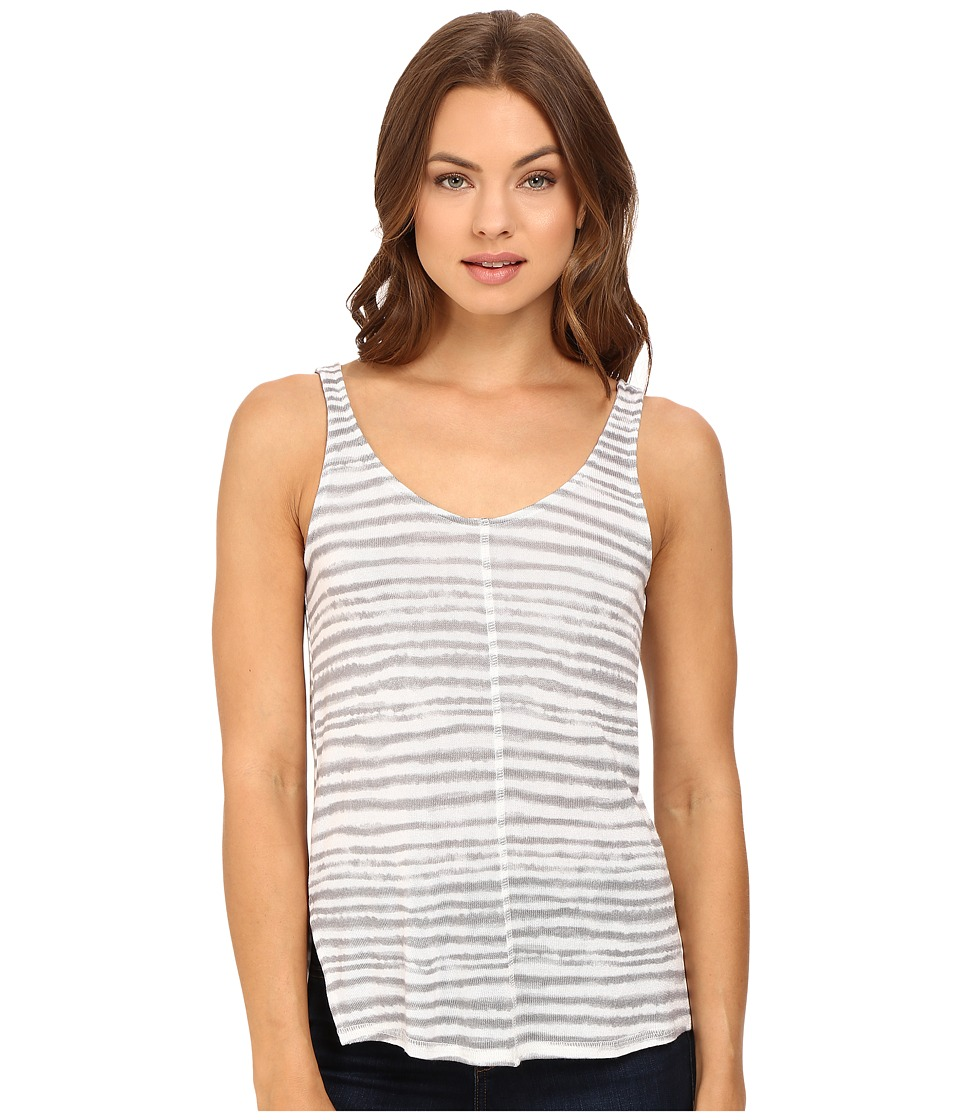 Splendid - O'Keefe Stripe Tank Top (Grey) Women's Sleeveless