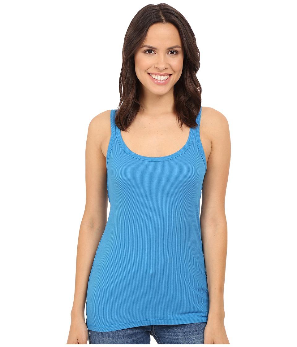 Splendid - 2x1 Split Strap Tank Top (Regatta Blue) Women's Sleeveless